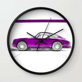 Porsche 911 / III Wall Clock