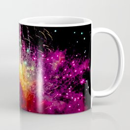 Fireworks at Addison Texas Kaboom Town Coffee Mug