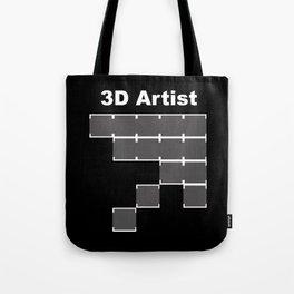 3D Artist Tote Bag