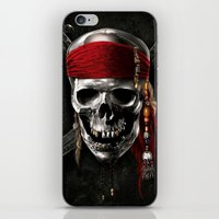 pirate iPhone & iPod Skins featuring PIRATE by Acus