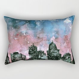 buildings architecture galaxy Rectangular Pillow