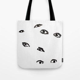 Beware of the nunchi Tote Bag