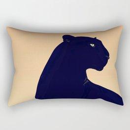 Sunset Black Panther Rectangular Pillow