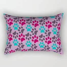 Adopt. Don't. Shop. Pattern Rectangular Pillow