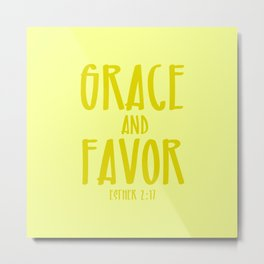 Grace and Favor Metal Print