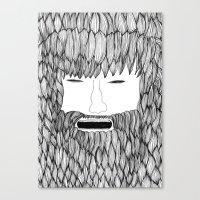 doodle Canvas Prints featuring Doodle by David