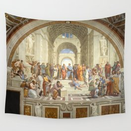 Raphael - The School of Athens Wall Tapestry
