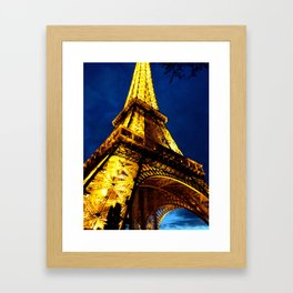 Midnight in Paris Framed Art Print