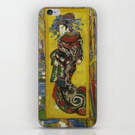 Courtesan by Van Gogh iPhone Skin