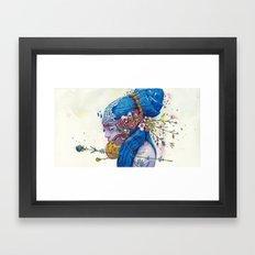 spring muse Framed Art Print