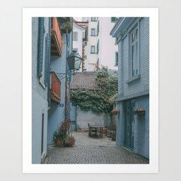 Zurich Alley II Art Print
