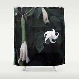 MOONFLOWER Shower Curtain