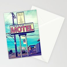 The cat motel Stationery Cards