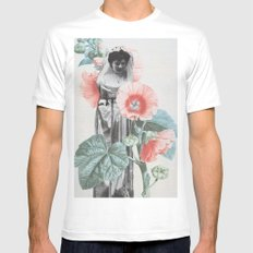 Botanical Bride Mens Fitted Tee White MEDIUM