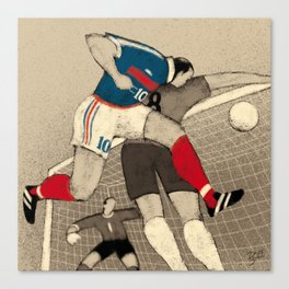 History of FIFA World Cup - France 1998 Canvas Print