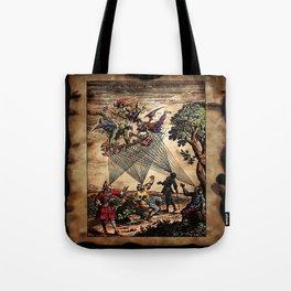 Medieval Minstrel Spirits Tote Bag