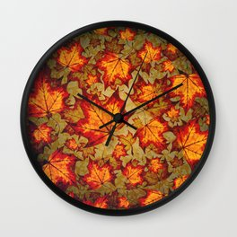 Changing Of The Seasons Wall Clock