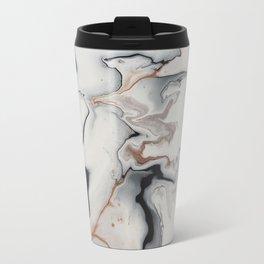 Unique Fluid Abstract Travel Mug