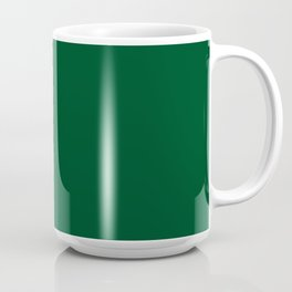 Forest Green (Traditional) - solid color Coffee Mug