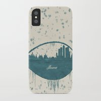 moscow iPhone & iPod Cases featuring Frozen Moscow by Paula Belle Flores