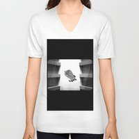 calendars V-neck T-shirts featuring Calendars for Analytics by mofart photomontages