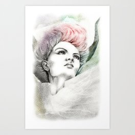 Fallen Faery Art Print