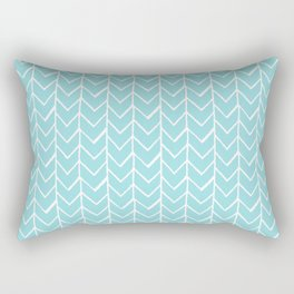 Herringbone Island Paradise Rectangular Pillow