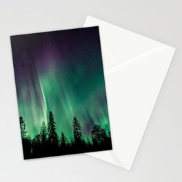 Aurora Borealis (Heavenly Northern Lights) Stationery Cards