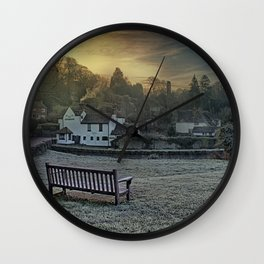 Loose Hill And Chequers Wall Clock