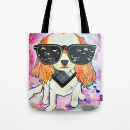 Puppy Pop Tote Bag