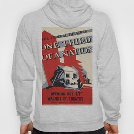 Vintage poster - One Third of a Nation Hoody