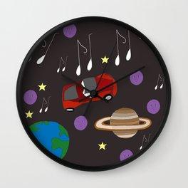 Awesome Ride, Starman Wall Clock