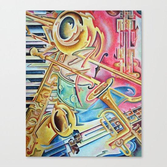 Instrumental Canvas Print