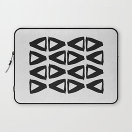 Black and White Abstract II Laptop Sleeve