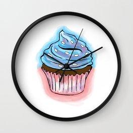 Cup Cake Wall Clock