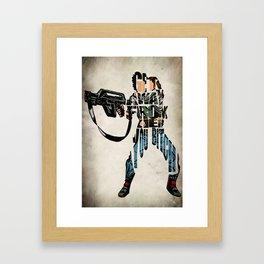 Ellen Ripley from Alien Framed Art Print