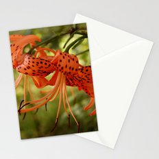 Wild Tiger Lily Stationery Cards