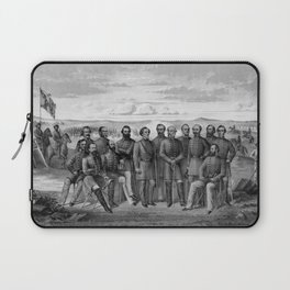 The Generals Of The Confederate Army Laptop Sleeve