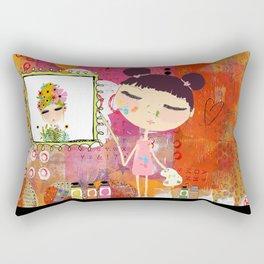 Little Artist Rectangular Pillow