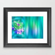 The Sound of Light and Color - MINT Framed Art Print