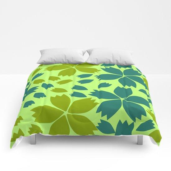 Jungle storm Comforters