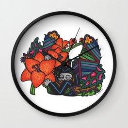 Freedom (Botanical Bliss) Wall Clock