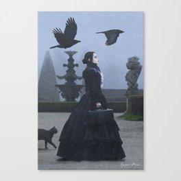 Lady Charlotte Nightshade Canvas Print