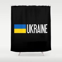 Ukraine: Ukrainian Flag & Ukraine Shower Curtain