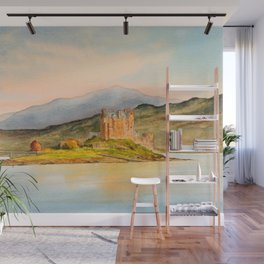Eilean Donan Castle Scotland Wall Mural