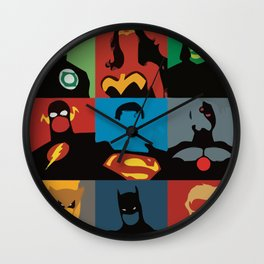 Justice League Wall Clock