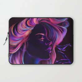 Blacklight Babe Laptop Sleeve