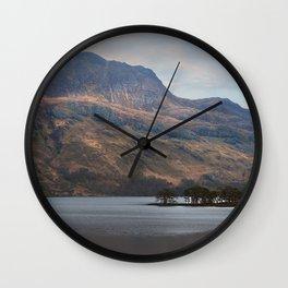 Highland Grandeur Wall Clock
