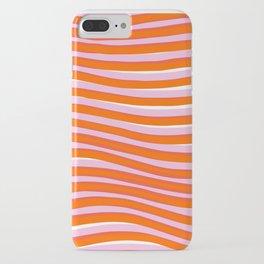 electric zebra stripes iPhone Case
