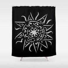 Celtic sun Shower Curtain